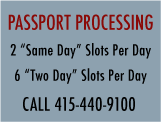 ush Passport Processing Service